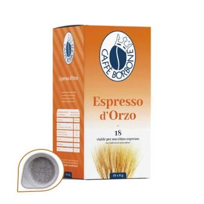 Cialde Espresso D'Orzo Caffe' Borbone Filtro in Carta 44 mm -