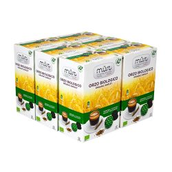 orzo 8 Must Espresso Italiano Caffè in Capsule Solubile Organic Barley Orzo Biologico Compatibile Dolce Gusto®